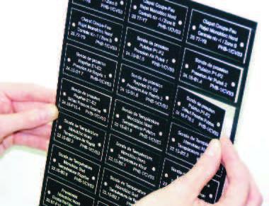 Etiquettes et plaques gravees 6